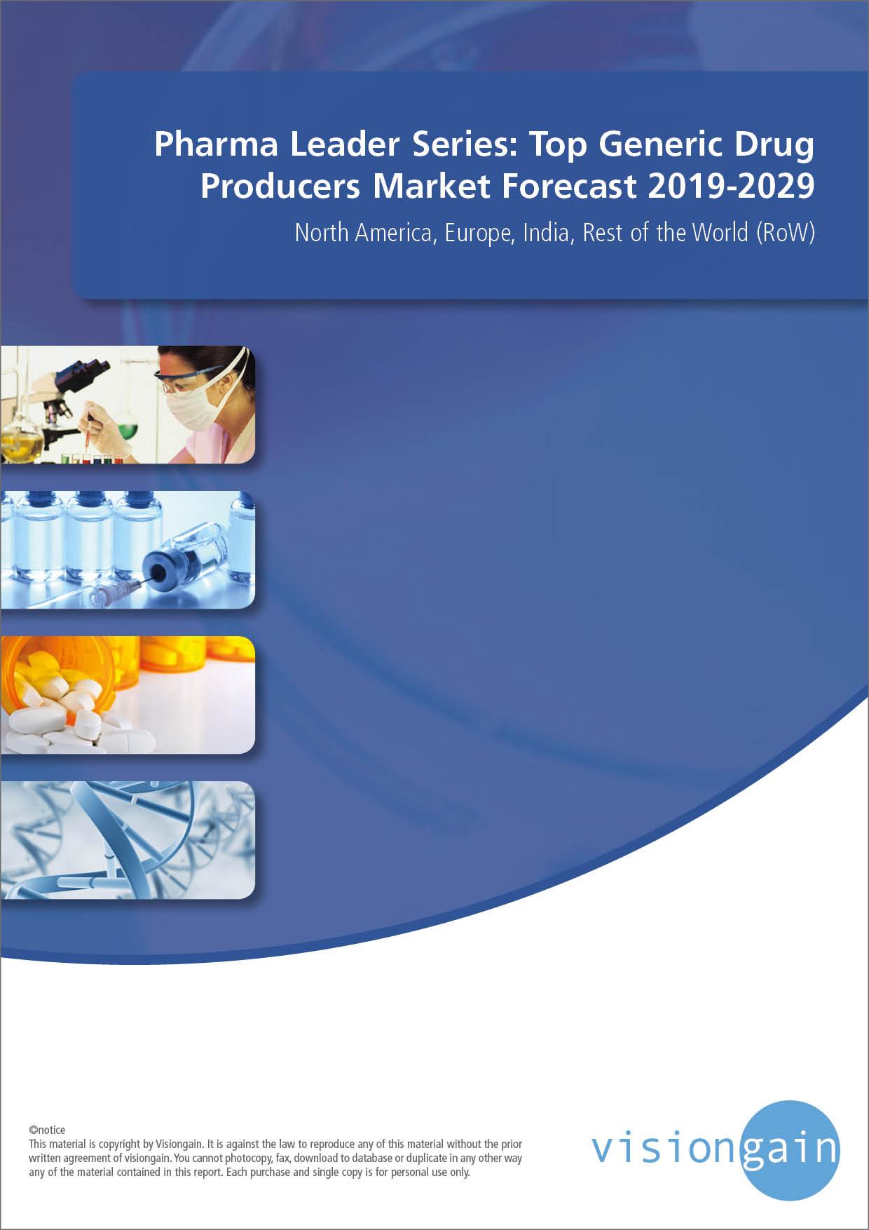 Pharma Leader Series: Top Generic Drug Producers Market Forecast 2019-2029