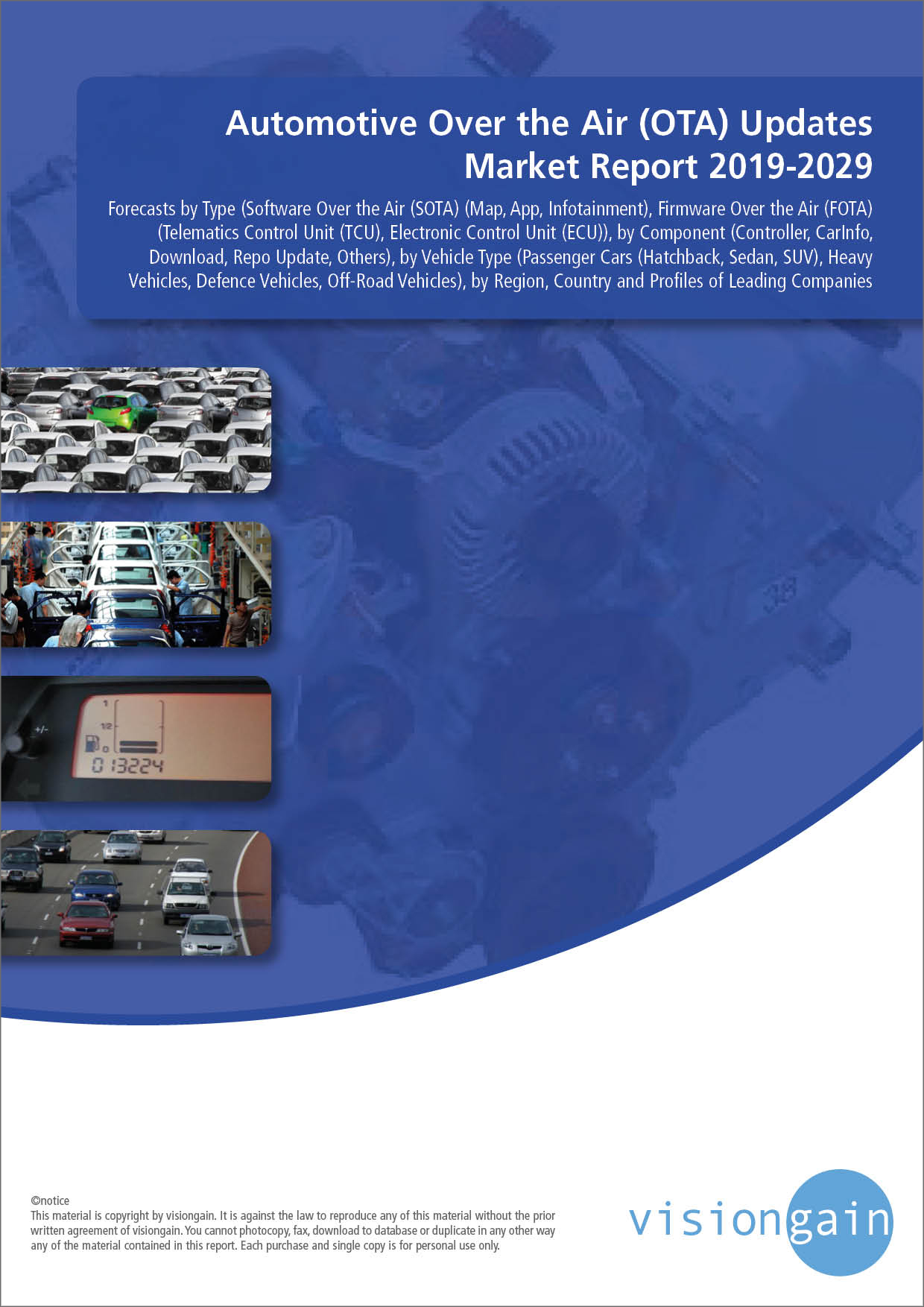 Automotive Over the Air (OTA) Updates Market Report 2019-2029
