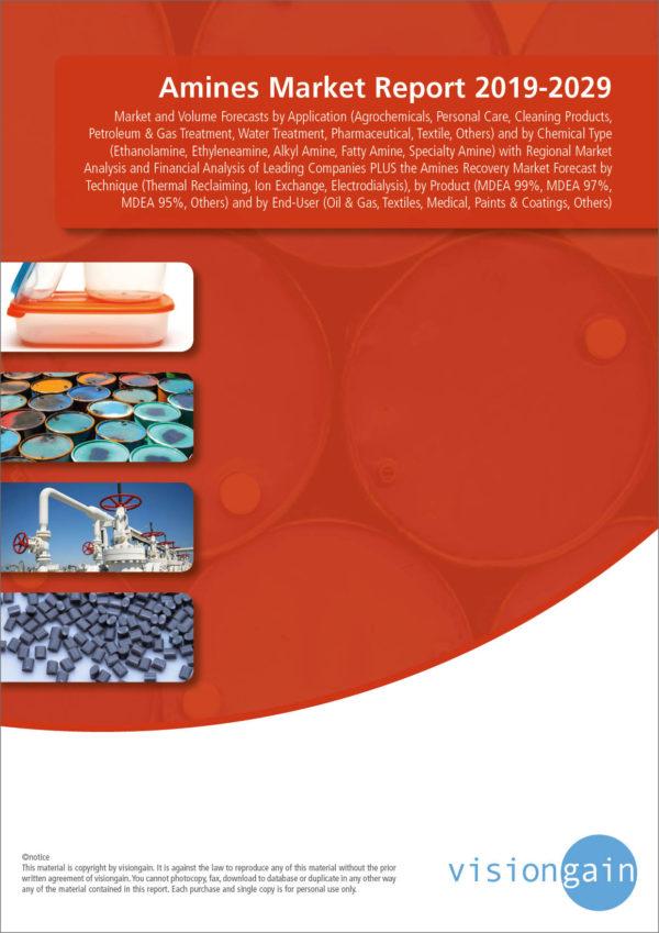 Amines Market Report 2019-2029