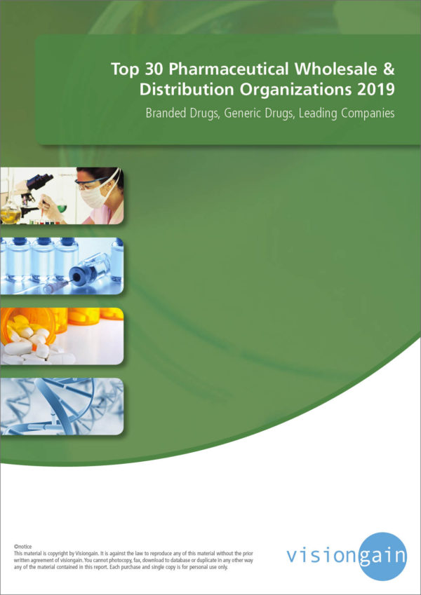 Top 30 Pharmaceutical Wholesale & Distribution Organizations | 2019