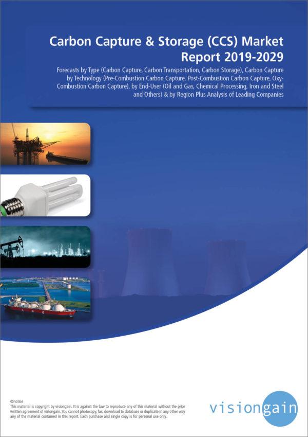 Carbon Capture & Storage (CCS) Market Report 2019-2029