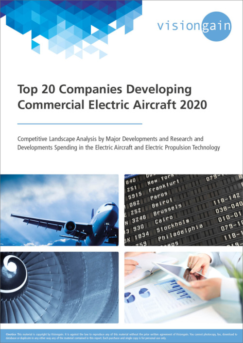 Top 20 Companies Developing Commercial Electric Aircraft 2020