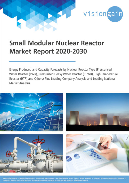 Cover Small Modular Nuclear Reactor Market Report 2020 2030