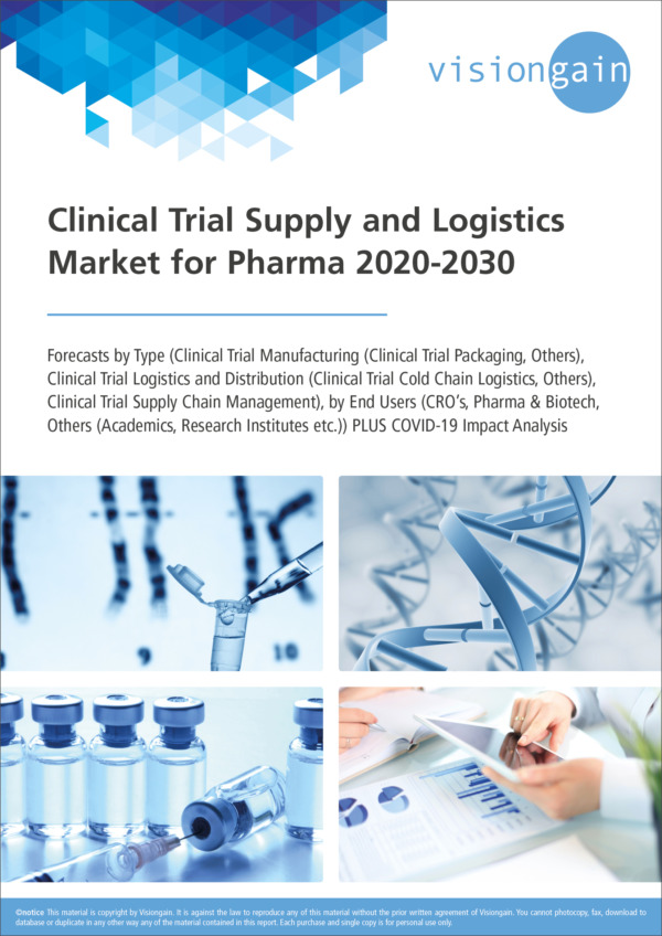 Clinical Trial Supply and Logistics Market for Pharma 2020-2030