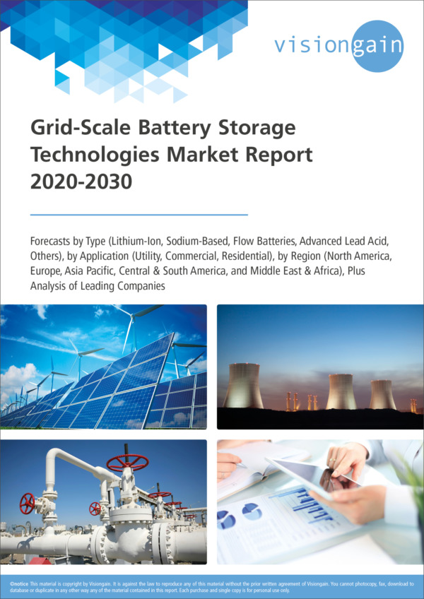 Grid-Scale Battery Storage Technologies Market Report 2020-2030