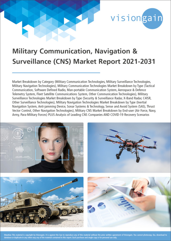 Military Communication, Navigation & Surveillance (CNS) Market Report 2021-2031