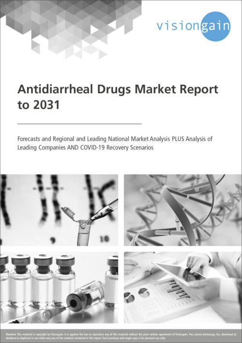 Cover Antidiarrheal Drugs Market Report to 2031